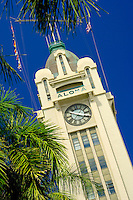 Aloha Tower, Clock Tower Landmark
