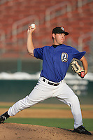 August 9 2009: Steve Geltz of the Rancho Cucamonga Quakes during game against the San Jose Giants at The Epicenter in Rancho Cucamonga,CA.  Photo by Larry Goren/Four Seam Images