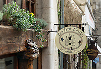 Quaint shops, Saint Paul de Vence, Provence, France