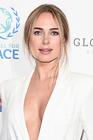 Kimberley Garner<br /> arriving for the Football for Peace initiative dinner by Global Gift Foundation at the Corinthia Hotel, London<br /> <br /> ©Ash Knotek  D3493  08/04/2019