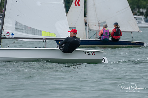 An RS Aero competing in Royal cork's mixed dinghy PY event in Crosshaven earlier in June. The class will host its Eastern Championships on July 2nd at the Royal St. George Yacht Club
