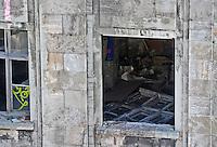 Gebäude des ehemaligen Kombinat VEB Interdruck an der Salomonstraße am Graphischen Viertel - das baufällige Gebäude wird saniert .  Foto: aif / Norman Rembarz..Jegliche kommerzielle wie redaktionelle Nutzung ist honorar- und mehrwertsteuerpflichtig! Persönlichkeitsrechte sind zu wahren. Es wird keine Haftung übernommen bei Verletzung von Rechten Dritter. Autoren-Nennung gem. §13 UrhGes. wird verlangt. Weitergabe an Dritte nur nach  vorheriger Absprache. Online-Nutzung ist separat kostenpflichtig..