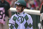 Jon Court after riding War Kill in The Mrs. Revere (grII) at Churchill Downs. 11.14.2009