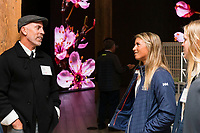 SAN FRANCISCO, CA - October 16 - Brian Lewis and Erika Reineke attend Kilroy Realty / US Olympic Sailing Cocktail Reception 2019 on October 16th 2019 at Kilroy Innovation Center in San Francisco, CA (Photo - Andrew Caulfield for Drew Altizer Photography)