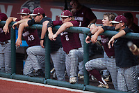 Matt Higgins (6) of the Bellarmine Knights during the game against the Liberty Flames at Liberty Baseball Stadium on March 9, 2021 in Lynchburg, VA. (Brian Westerholt/Four Seam Images)