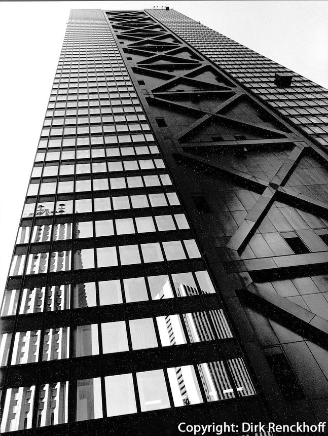 Hochhaus in Shinjuku, Tokyo, Japan