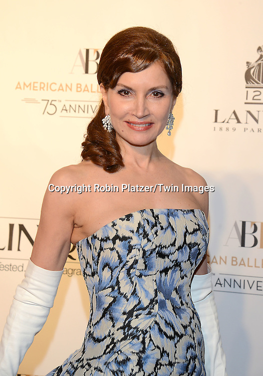 Jean Shafiroff  attends the Opening Night of American Ballet Theatre 2014 Fall Gala on October 22,2014 at the David Koch Theater at Lincoln Center in New York City. <br /> <br /> photo by Robin Platzer/Twin Images<br />  <br /> phone number 212-935-0770