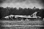 Pix: Shaun Flannery/shaunflanneryphotography.com...COPYRIGHT PICTURE>>SHAUN FLANNERY>01302-570814>>07778315553>>..24th April 2013????Ground testing of Vulcan XH558 at Robin Hood Airport Doncaster Sheffield.
