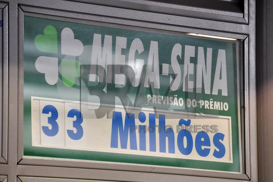 SÃO PAULO-SP, 02 DE MARÇO DE 2011 - MEGA-SENA - Hoje (02 de março), as 20h, acontece na cidade de Paraty (RJ) o sorteio da Mega-Sena acumulada (concurso 1.262). Se houver ganhador, ele levará o segundo maior prêmio de 2011, que pode chegar R$ 33 milhões para quem acertar as seis dezenas da faixa principal. A aposta mínima na Mega-Sena é de R$ 2,00 e pode ser feita até às 19h desta quarta-feira, em qualquer uma das 10,7 mil lotéricas do país. (Foto: Felipe José / News Free)