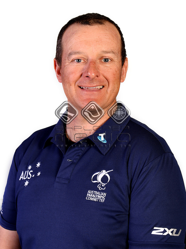 Michael Milton / Team Official <br /> Australian Paralympic Committee<br /> 2014 Sochi Paralympic Games<br /> (Games Processing)<br /> Melbourne VIC April 2013<br /> © Sport the library / Jeff Crow