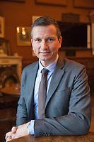 Rotterdam, Netherlands, Januari 06, 2016,  Press conference ABNAMROWTT, Toernament Director Richard Krajicek<br /> Photo: Tennisimages/Henk Koster