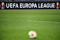 Banner of Uefa Europa League during the Europa League group stage football match between SS Lazio and Lokomotiv Moskva at Olimpico stadium in Rome (Italy), September 30th, 2021. Photo Antonietta Baldassarre / Insidefoto
