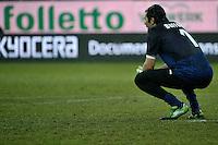 Gianluigi Buffon  Juventus.Calcio Parma vs Juventus.Campionato Serie A - Parma 13/1/2013 Stadio Ennio Tardini.Football Calcio 2012/2013.Foto Federico Tardito Insidefoto