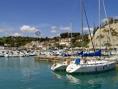 ITA, Italien, Marken, Numana an der Riviera del Conero: Yachthafen   ITA, Italy, Marche, Numana at Riviera del Conero: Yacht harbour