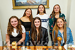 Lily Collins from Tralee celebrating her 14th birthday in Bella Bia on Saturday.<br /> Front l to r: Abby McNamara, Kelly Fitzgerald and Lily Collins. Standing l to r: Kate Collins, Grace Lucid and Megan Rusk.