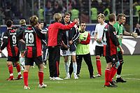 J¸rgen Klopp hat Ranisav Jovanovic (beide FSV Mainz 05) nach dem Spiel so einiges mitzuteilen