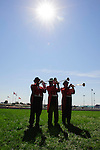 The Woodbine Bugel Boys played a lively call to post for each race at Woodbine Race Course in Ontario, Canada on September 16, 2012.