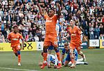 19.05.2019 Kilmarnock v Rangers: Alfredo Morelos celebrates