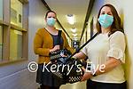 UHK Midwives Eimear Galvin and Joann Malik.