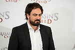 "The director of the film, Justin Kurzel during the presentation of the film ""Assassin's Creed"" in Madrid, Spain. December 07, 2016. (ALTERPHOTOS/BorjaB.Hojas)"