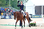 William Fox-Pitt and Cool Mountain lead with a 42.8 at the conclusion of the dressage portion.