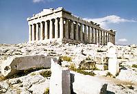 Greece: The Parthenon.