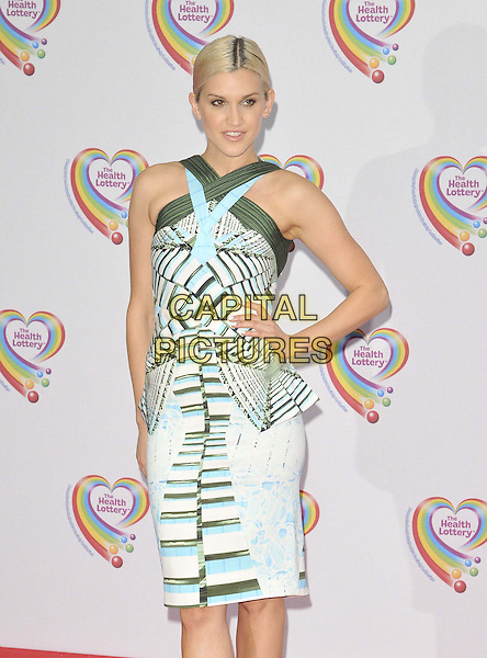 LONDON, ENGLAND - JUNE 02: Ashley Roberts attends the Health Lottery VIP tea party, The Savoy Hotel, The Strand, on Monday June 02, 2014 in London, England, UK.<br /> CAP/CAN<br /> ©Can Nguyen/Capital Pictures