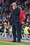 Real Madrid coach Zinedine Zidane during King's Cup match between Real Madrid and Leganes at Santiago Bernabeu Stadium in Madrid, Spain. January 24, 2018. (ALTERPHOTOS/Borja B.Hojas)