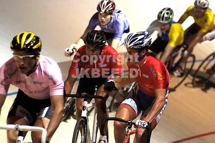 wielrennen zesdaagse van het noorden 14-12-2007 kappes - stroetinga.