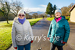 Enjoying a stroll in the Killarney National Park on Saturday, l to r: Mary O'Connor and Joan Buckley