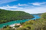 Croatia, Istria, near Vrsar: Lim Canal | Kroatien, Istrien, bei Vrsar: der Limski-Kanal