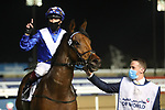 March 27, 2021: LORD NORTH (IRE) #10, ridden by jockey Frankie Dettori wins the Dubai Turf for trainers John and Thady Gosden on Dubai World Cup Day, Meydan Racecourse, Dubai, UAE. Shamela Hanley/Eclipse Sportswire/CSM