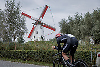 Finn Fisher-Black (NZL/UAE-Team Emirates)<br /> <br /> 88th UCI Road World Championships 2021 – ITT (WC)<br /> Men's U23 Time trial from Knokke-Heist to Brugge (30.3km)<br /> <br /> ©Kramon