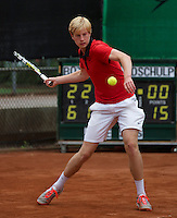 10-08-13, Netherlands, Rotterdam,  TV Victoria, Tennis, NJK 2013, National Junior Tennis Championships 2013,  Botic van de Zandschulp<br /> <br /> Photo: Henk Koster