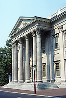 Philadelphia: First Bank of U. S.  1795-97. Modeled on the Exchange in Dublin. Photo '88.