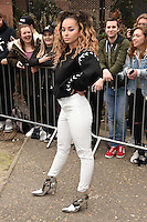 Ella Eyre<br /> arrives for the Topshop Unique AW17 show as part of London Fashion Week AW17 at Tate Modern, London.<br /> <br /> <br /> ©Ash Knotek  D3232  19/02/2017