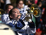The Carson Middle School Marching Band performs in the annual Nevada Day parade in Carson City, Nev. on Saturday, Oct. 29, 2016. <br /> Photo by Cathleen Allison