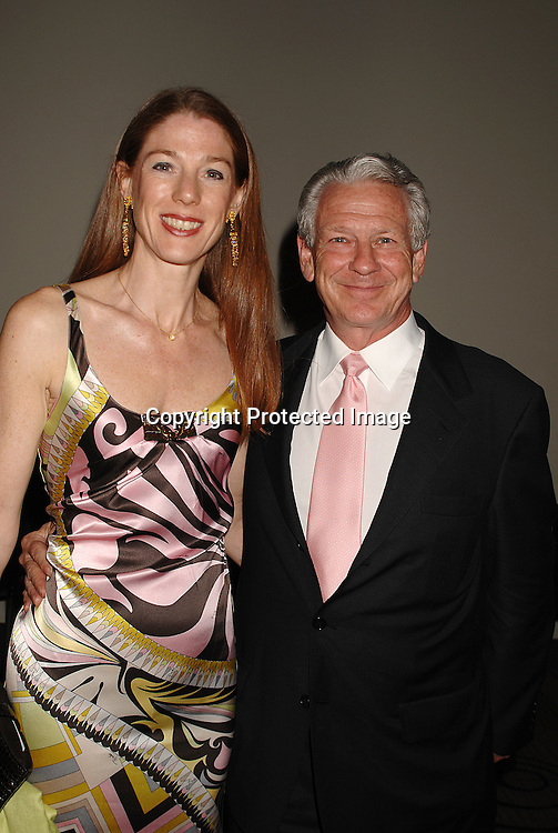 Christine and Bill Campbell..arriving at The Britannia Ball on board The Queen Mary 2 ..to benefit the New York City Opera and the Brooklyn Academy of Music sponsored by CIT on May 24, 2007 ...RobinPlatzer, Twin Images......212-935-0770