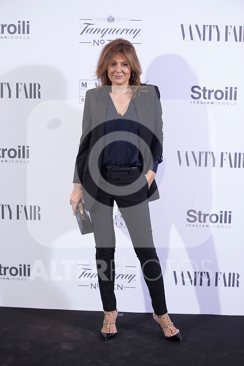 Nuria Gonzalez poses during the 'HUBERT DE GIVENCHY' exhibition inauguration at THYSSEN-BORNEMISZA museum in Madrid, Spain. October 20, 2014. (ALTERPHOTOS/Victor Blanco)
