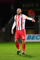 Scott Cuthbert of Stevenage FC during Stevenage vs Bolton Wanderers, Sky Bet EFL League 2 Football at the Lamex Stadium on 21st November 2020