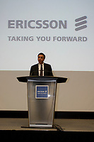 Toronto (ON), July 10, 2007 - Ericsson Canada's CEO Mark Henderson presents the future wireless technologies before they are available to Canadians.