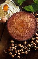 Europe/France/Limousin/23/Creuse: Gâteau creusois aux noisettes