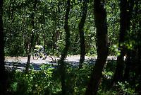 Dylan van Baarle (NLD/Cannondale-Drapac) on course<br /> <br /> stage 13 (ITT): Bourg-Saint-Andeol - Le Caverne de Pont (37.5km)<br /> 103rd Tour de France 2016