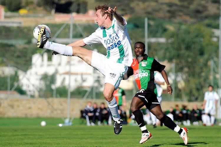 voetbal fc groningen - nec trainingskamp marbella seizoen 2008-2009 09-01-2009   hoogstandje frank olijve.fotograaf jan kanning