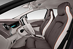 Front seat view of a 2017 Renault ZOE Bose Edition 5 Door Hatchback front seat car photos