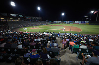 A wide-angle view of TD Bank Ballpark during the game between the Altoona Curve and the Somerset Patriots on July 24, 2021, in Somerset NJ. (Brian Westerholt/Four Seam Images)