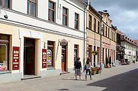 Haus auf der Liepajas Iela in Kuldiga, Lettland, Europa