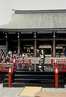 Tokyo: Meiji Shrine and Dancer. Photo '81.
