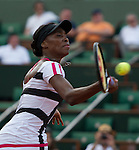 Paula Ormaechea (ARG) loses in first round at Roland Garros in Paris, France on May 27, 2012