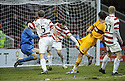06/02/2010  Copyright  Pic : James Stewart.sct_jspa08_motherwell_v_hamilton  .:: LUKAS JUTKIEWICZ SCORES THE WINNER ::.James Stewart Photography 19 Carronlea Drive, Falkirk. FK2 8DN      Vat Reg No. 607 6932 25.Telephone      : +44 (0)1324 570291 .Mobile              : +44 (0)7721 416997.E-mail  :  jim@jspa.co.uk.If you require further information then contact Jim Stewart on any of the numbers above.........
